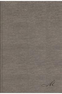 Biblia de Estudio MacArthur, NBLA  Tapa Dura/Tela, Gris, Interior a dos colores -  - MacArthur, John F.
