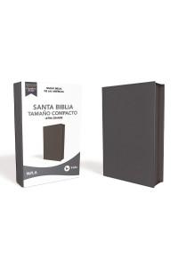 Biblia Ultrafina NBLA , Tamaño Compacto, Piel Fabricada, Azul, con Cierre, Edición Letra Roja -  - Vida,