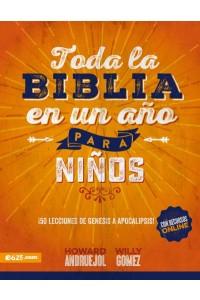 Toda la Biblia en un Año para Niños -  - Andruejol, Howard