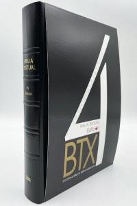 Biblia Textual Semi piel negro (4ª edición) -
