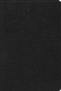 Everyday Study Bible CSB Black LeatherTouch -