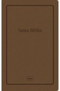 Santa Biblia Reina Valera Revisada RVR, Letra Extra Grande, Tamaño Manual, Letra Roja, Leathersoft -  - Revisada, Reina Valera