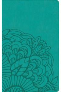 Biblia RVR 1960, Ultrafina, Piel Imit. Aqua -