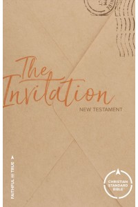 CSB The Invitation New Testament Paperback -