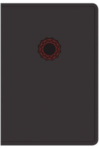 NKJV Deluxe Gift Bible, Black/Red LeatherTouch Imitation Leather -