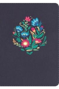 NVI Biblia Letra Grande Tamaño Manual, bordado sobre tela con índice -