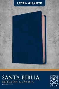 Biblia NTV, Edición clásica, letra gigante (Letra Roja, SentiPiel, Azul, Índice) -  - Tyndale
