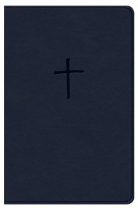 NKJV Compact Bible, Value Edition Navy Leathertouch -