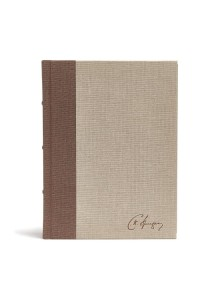 CSB Spurgeon Study Bible, Brown/Tan Cloth Over Board -  - Spurgeon, Charles