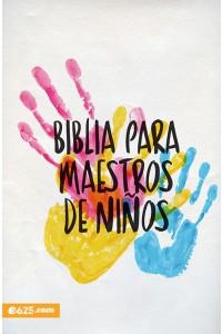 Biblia para Maestros de Niños -