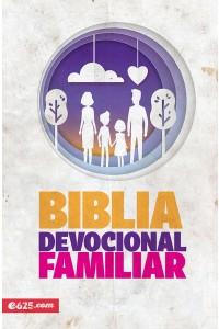 Biblia devocional familiar NBV - Rústica -
