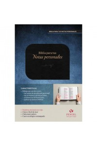 Biblia para tus Notas Personales Nvi, Cuero Italiano -  - NVI-Nueva Version International,