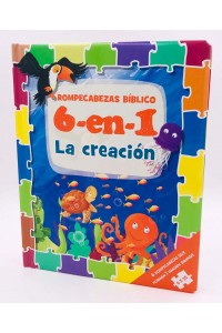 Rompecabezas Bíblico (Biblia de niños  6 -en- 1) La Creación -