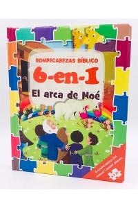 Rompecabezas Bíblico (Biblia de niños  6 -en- 1) El arca de Noé  -