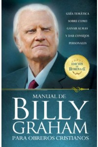 Manual de Billy Graham para obreros cristianos -  - Graham, Billy