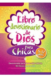 Libro devocionario de Dios para chicas / Devocional -  - Honor Books
