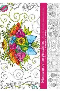 Momentos inspiradores - Libro de bolsillo de colorear -  - Correira, Chanelle