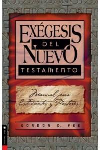 Exégesis del Nuevo Testamento -  - Fee, Gordon D.