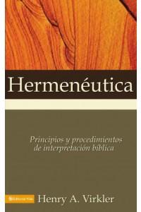 Hermenéutica -  - Virkler, Henry A.