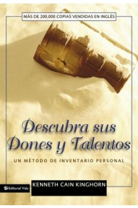 Descubra Sus Dones y Talentos -  - Kinghorn, Kenneth C.