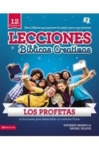 Especialidades Juveniles / Lecciones bíblicas creativas: Lecciones Biblicas Creativas: Los Profetas -  - Obando, Esteban