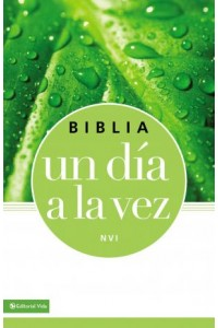 Once-A-Day: Biblia un día a la vez - NVI -  - Zondervan,