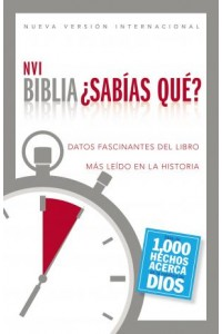Biblia NVI - ¿Sabías qué? -  - Zondervan,