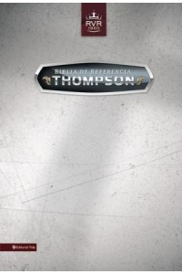 Biblia de referencia Thompson RVR 1960 -  - Zondervan,