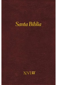 Biblia NVI - Tapa Dura Vino -  - NVI-Nueva Version International,