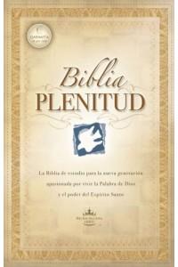 Biblia Plenitud RVR 1960 negro piel -  - RVR 1960- Reina Valera 1960,