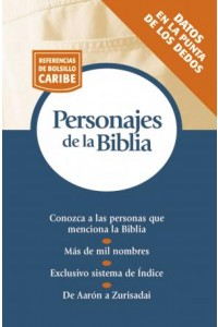 Personajes de la Biblia -  - Zondervan,