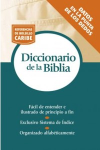 Diccionario de la Biblia -  - Zondervan,