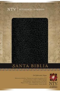 Santa Biblia NTV, Edición de referencia ultrafina: Holy Bible NTV, Slimline Reference Edition -  - Tyndale