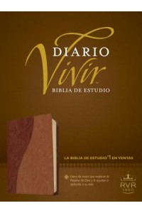 Biblia de Estudio Diario Vivir RVR60, DuoTono: Life Application Study Bible RVR60, TuTone - 9781414368733 - Tyndale