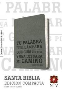Santa Biblia NTV, Edición compacta, Salmo 119:105: Holy Bible NTV, Compact Edition, Psalm 119:105 -  - Tyndale
