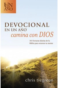 Devocional en un año -- Camina con Dios: The One Year Walk With God Devotional -  - Tiegreen, Chris