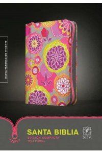 Santa Biblia NTV, Edición compacta, Tela floral: Holy Bible NTV, Compact Edition, Floral Cloth -  - Tyndale