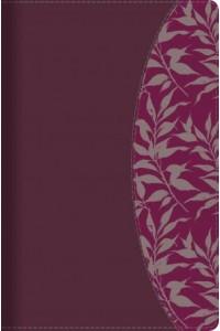 RVR 1960 Biblia de Estudio para Mujeres, vino tinto/fucsia símil piel con índice -  - Kelley Patterson, Dorothy