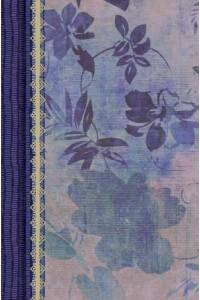 RVR 1960 Biblia de Estudio para Mujeres, azul floreado tela impresa -  - Kelley Patterson, Dorothy