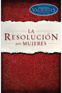 Resolucion para Mujeres -  - Shirer, Priscilla