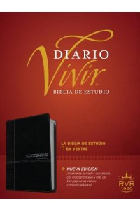 Biblia de Estudio del Diario Vivir RVR60: Life Application Study Bible RVR60 -  - Tyndale