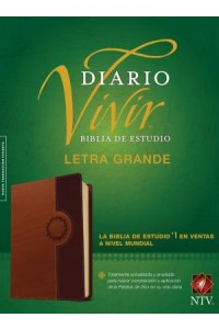Biblia de Estudio del Diario Vivir NTV, letra grande: Life Application Study Bible NTV, Large Print