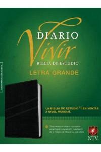 Biblia de Estudio del Diario Vivir NTV, letra grande: Life Application Study Bible NTV, Large Print  -  - Tyndale