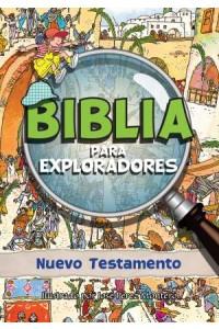 Biblia para Exploradores: Nuevo Testamento: Bible Sleuth: New Testament  -  - Tyndale