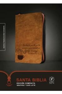 Santa Biblia NTV, Edición compacta, Café latté: Holy Bible NTV, Compact Edition, Coffee Latte -  - Tyndale