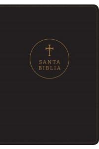 Biblia  letra grande RVR60, Edición de referencia ultrafina, Letra Roja, SentiPiel, Negro -  - Tyndale Bible