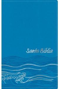 Biblia NTV, Edición zíper, Océano (SentiPiel, Azul claro) -  - Tyndale House Publishers, Inc.
