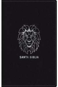 Biblia NTV, Edición zíper, León (SentiPiel, Negro) -  - Tyndale House Publishers, Inc.