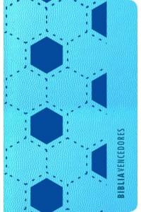 Biblia Vencedores RVR 1960 azul símil piel -