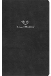 Biblia del ministro, RVR 1960 ,negro piel fabricada -